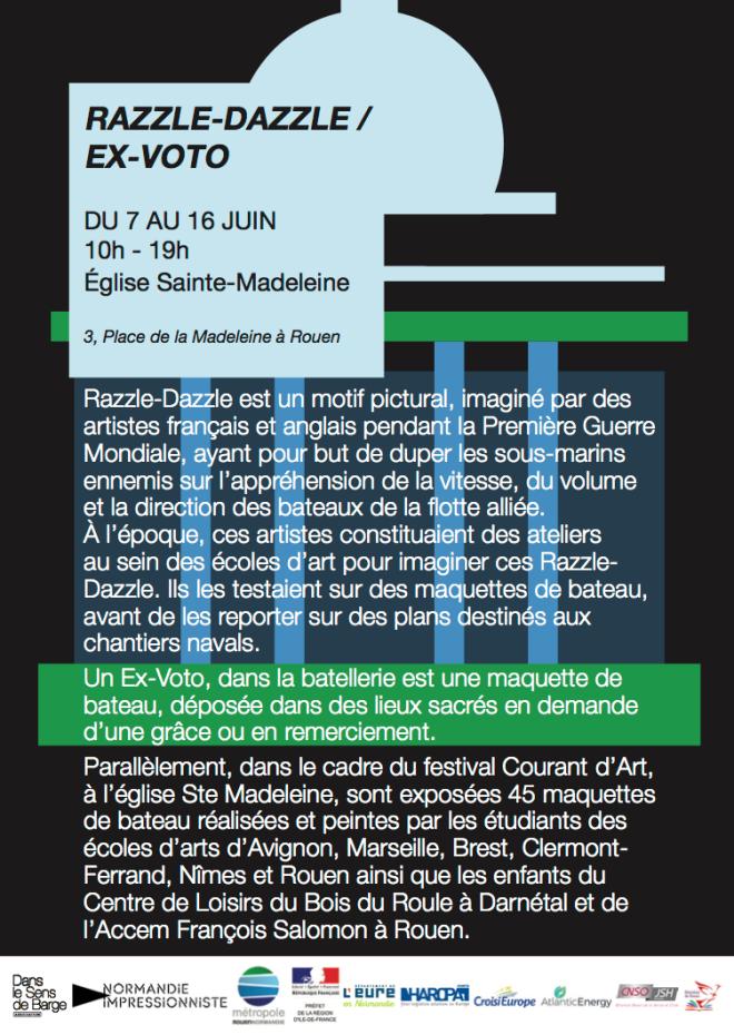 Flyer Razzle-Dazzle Ex - voto WEB